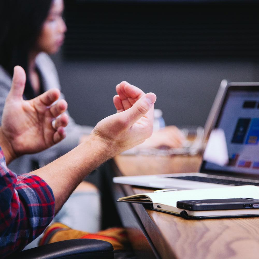 Hands on bistand med forretningsmæssig succes meyhoff